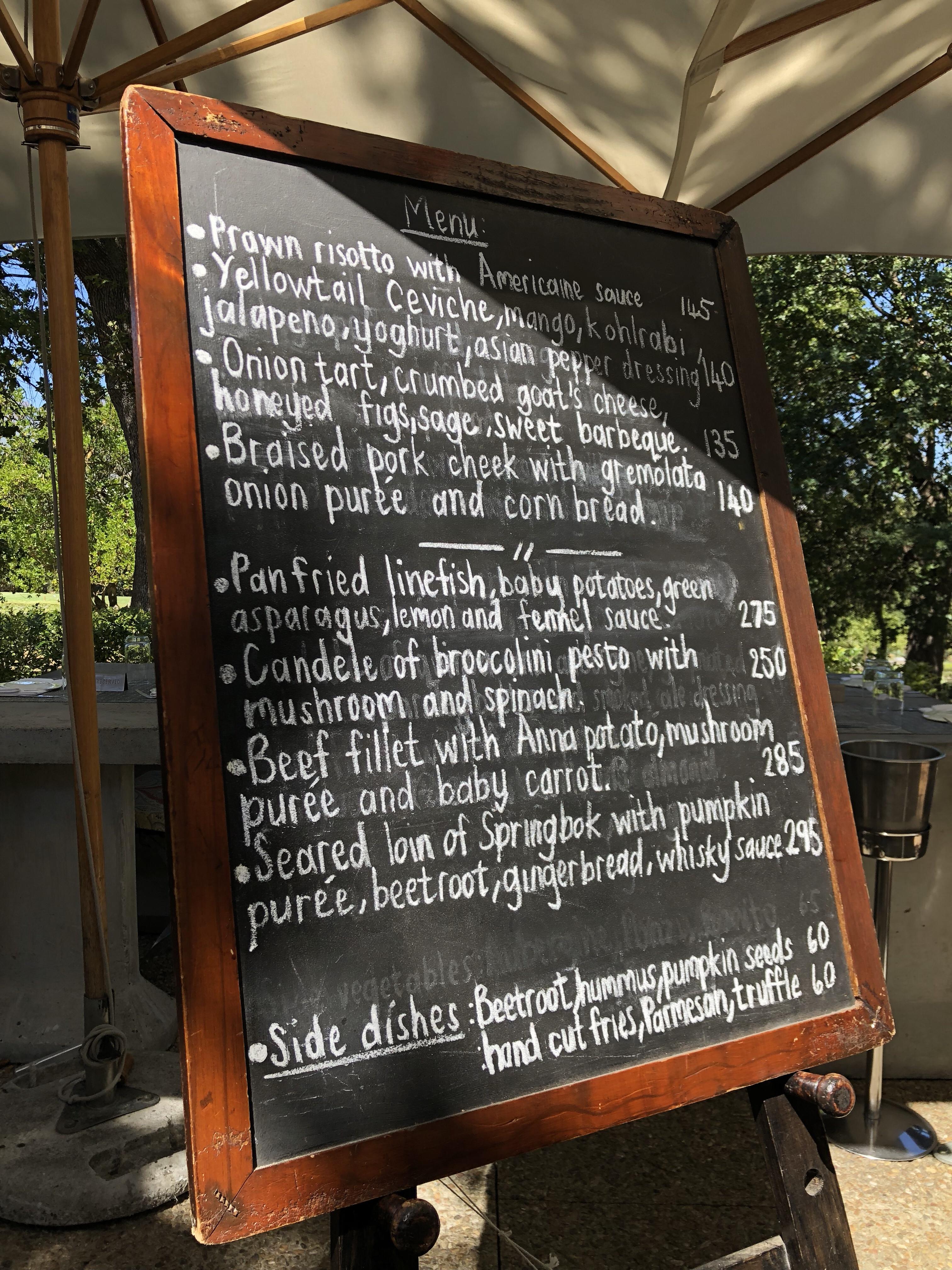 Dressing À L Américaine review: terroir at kleine zalze – rossouw's restaurants
